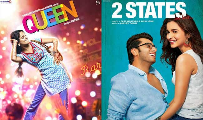2 States, Queen lead 60th Filmfare Awards nominations