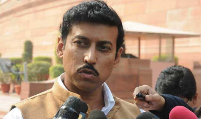 ... and corruption by former Censor board members, Union Minister of State for Information and Broadcasting Rajyavardhan Singh Rathore on Saturday said that ... - rajyavardhan-singh-rathore