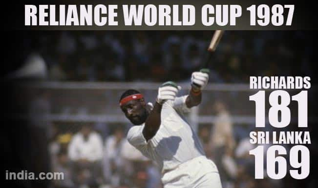 Reliance World Cup 1987: Mike Gatting's infamous reverse sweep & other highlights