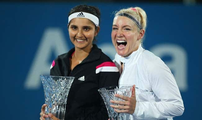 Sania Mirza rises to fifth rank in women's doubles