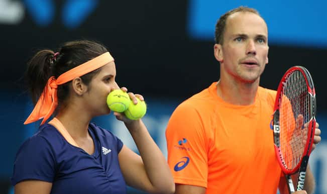 Australian Open 2015: Sania Mirza-Bruno Soares knocked out in mixed doubles semis