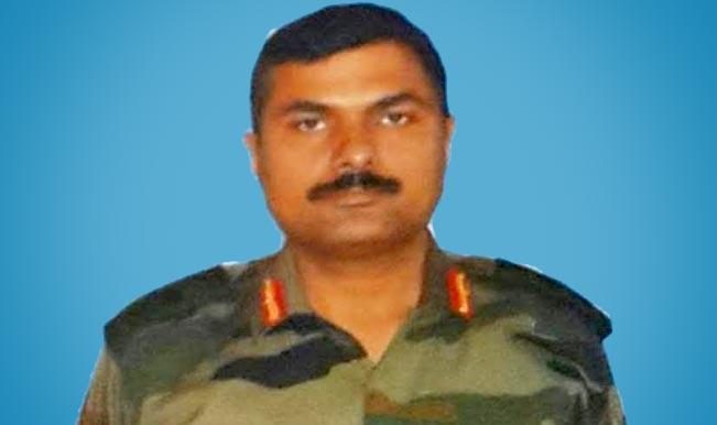 कश्मीर में शहीद हुए कर्नल एम एन राय को नम आँखों से दी गयी विदाई