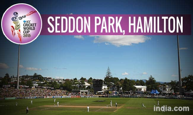 ICC Cricket World Cup 2015 Schedule at Seddon Park, Hamilton: Get Timetable and Ticket details of CWC 15 matches