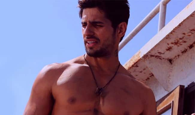 Sidharth Malhotra, no cheating please!