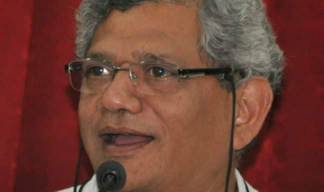 सीताराम येचुरी: सरकार का एजेंडा हिंदू मतों का ध्रुवीकरण