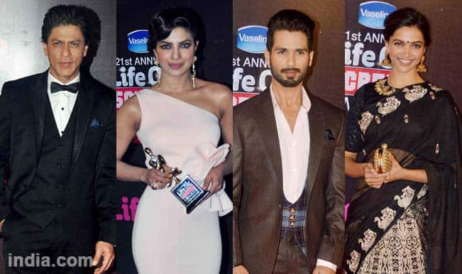 Screen Awards 2015 full winners list: Shah Rukh Khan, Shahid Kapoor, Priyanka Chopra, Deepika Padukone honoured
