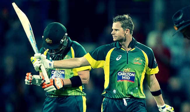 Steve Smith shines as Australia beat England to book Carlton MID tri-series final berth