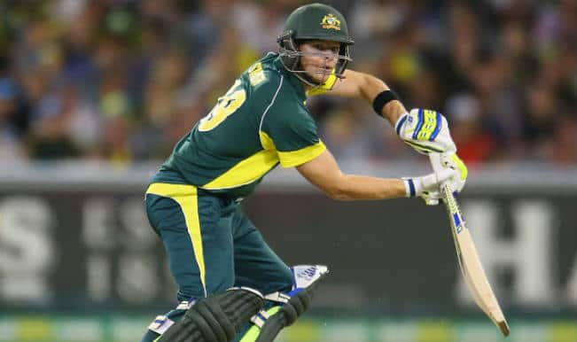 Steve Smith named captain of Team Australia for tri-series match against England
