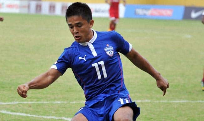 Federation Cup 2015: Sunil Chhetri double paves Bengaluru FC's way into semi-final