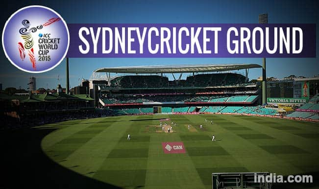 ICC Cricket World Cup 2015 Schedule at Sydney Cricket Ground (SCG): Get Timetable and Ticket details of CWC 15 matches