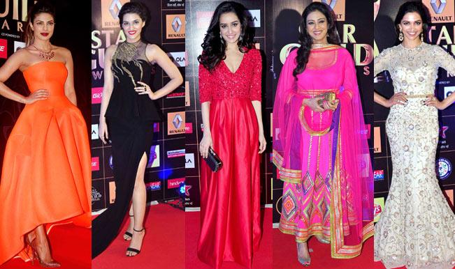 Star Guild Awards 2015: Priyanka Chopra, Deepika Padukone - actresses who sizzled on the red carpet