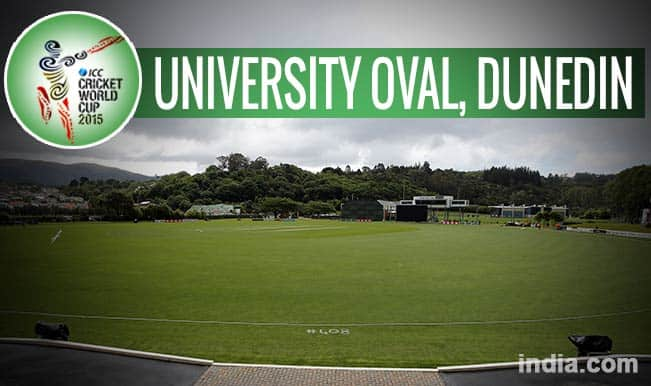 ICC Cricket World Cup 2015 Schedule at University Oval, Dunedin: Get Timetable and Ticket details of CWC 15 matches
