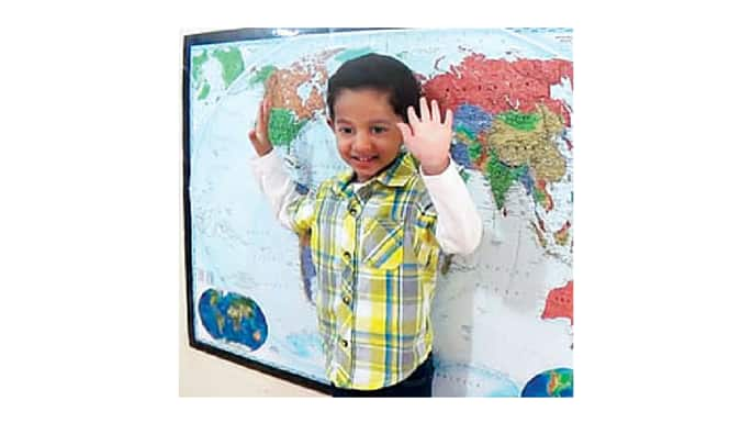 New York Toddler Sets Record Identifying More Than 200 Places on World Map