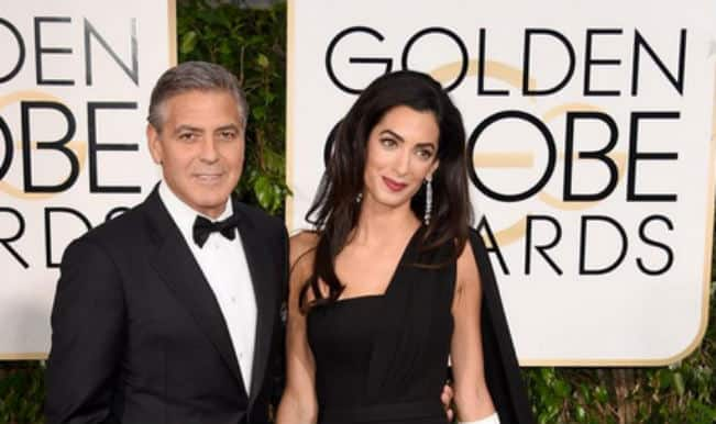 Golden Globe Awards: George Clooney professes love for wife Amal Amaluddin