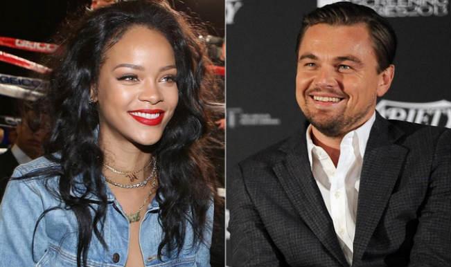 Leonardo DiCaprio and Rihanna spotted getting intimate?