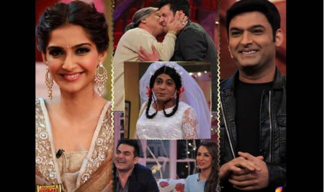 Comedy Nights with Kapil: Sonam Kapoor & Malaika Arora Khan groove to Dolly Ki Doli song Fashion khatam mujhpe!