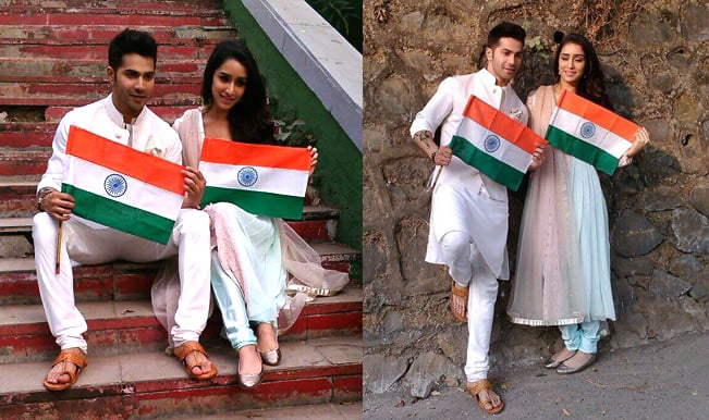 Republic Day 2015 special: Varun Dhawan and Shraddha Kapoor celebrate together!