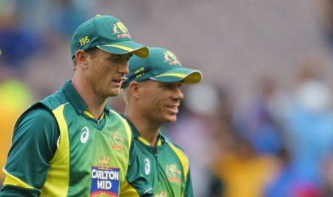 George Bailey suspended, David Warner fined following India vs Australia 2nd ODI