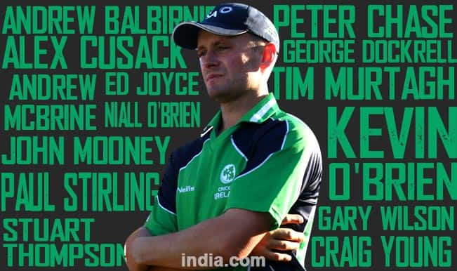 Team Ireland for ICC Cricket World Cup 2015: Team Profiles and Full Squad List of Ireland Players for ICC WC 2015