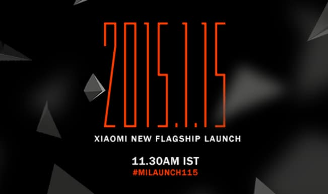 Xiaomi to launch world's thinnest smartphone on January 15 at 2 pm in Beijing #MiLaunch115