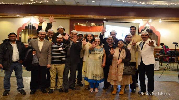 Chicago Chapter Celebrates Aam Aadmi Party Win