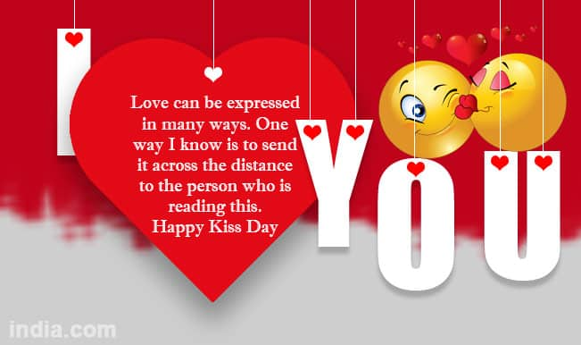 Love Quotes Of Kiss Day Romantic love quotes for him and her on