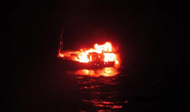 संदिग्ध नाव जलाने का आदेश नहीं दिया :  बी के लोशाली