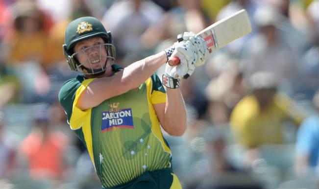 Australia vs England, Tri-series Final 2015: James Faulkner's fifty takes Australia to 278