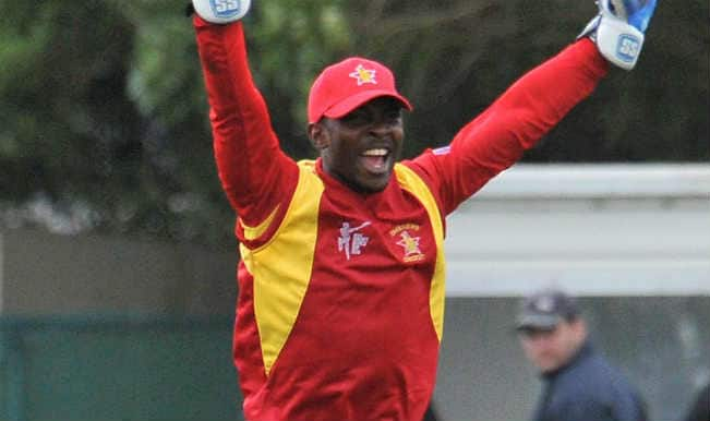Regis Chakabva OUT! Zimbabwe vs United Arab Emirates, ICC Cricket World Cup 2015 – Watch Full Video Highlights of the wicket