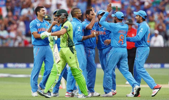 Younis Khan OUT! India vs Pakistan, ICC Cricket World Cup 2015 – Watch Full video highlights of fall of wicket