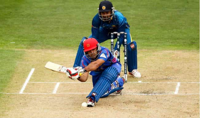 Samiullah Shenwari OUT! Sri Lanka vs Afghanistan, ICC Cricket World Cup 2015 – Watch Full Video Highlights of the wicket