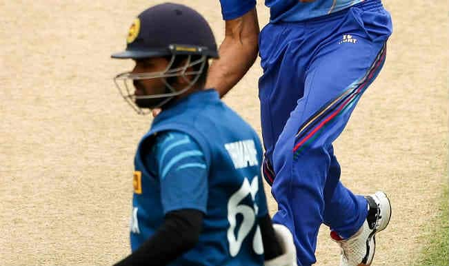 Lahiru Thirimanne OUT! Sri Lanka vs Afghanistan, ICC Cricket World Cup 2015 – Watch Full Video Highlights of the wicket