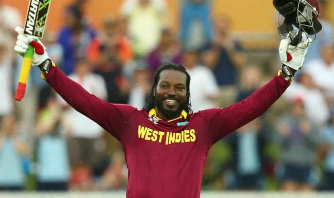 Chris Gayle hits double ton and other highlights of West Indies innings against Zimbabwe in CWC 15 match