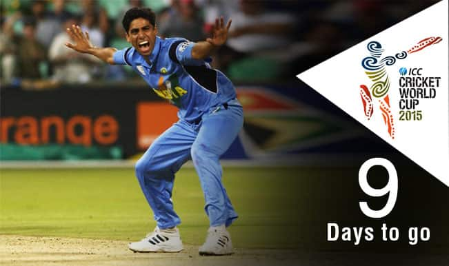 ICC Cricket World Cup 2015 Countdown Day 9: Ashish Nehra stuns England with his magic spell of 6-23 in 2003 World Cup
