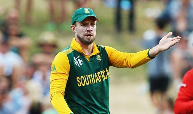 ICC Cricket World Cup 2015: AB de Villiers admits Zimbabwe put South Africa under pressure