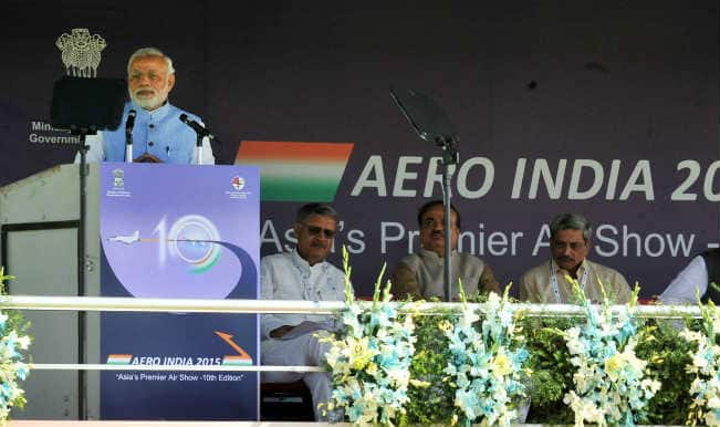 Aero India 2015: Narendra Modi promises steps to boost domestic defence industry