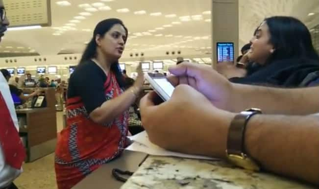 Air India's insensitive and rude staff: Watch video of Air India staff refusing entry to passengers with valid tickets