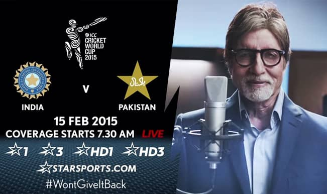 Amitabh Bachchan to make debut as commentator in India vs Pakistan Cricket World Cup 2015 match! Watch Video