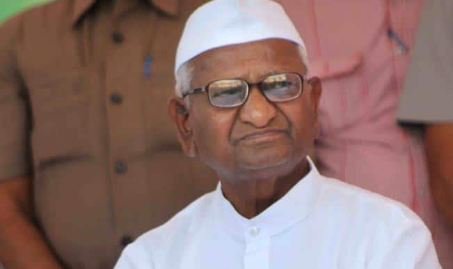 Anna Hazare slams Narendra Modi government on Land acquisition ordinance in Delhi