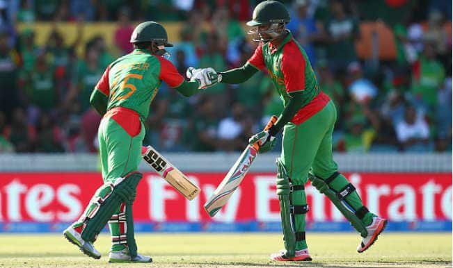 Live Cricket Score Sri Lanka Vs Bangladesh Ball By Updates 2015 World Cup Match SL Beats BAN 92 Runs Move To 2nd Place In Group A Points