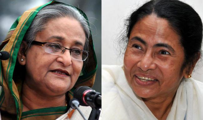 Mamata Banerjee meets Prime Minister Sheikh Hasina