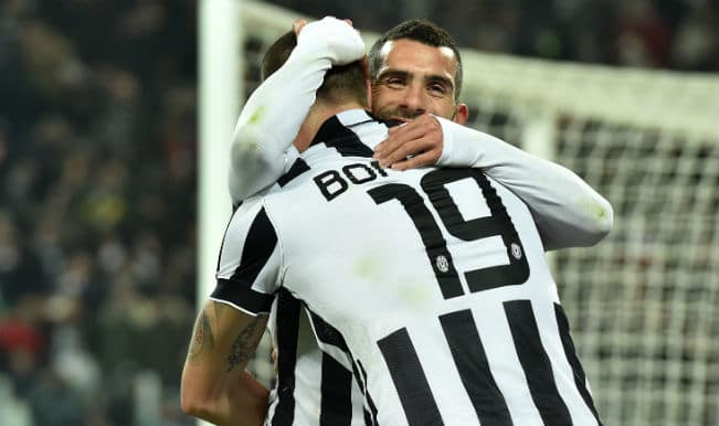 Juventus beat AC Milan 3-1 in Italian Serie A; stretch lead at top to 10 points