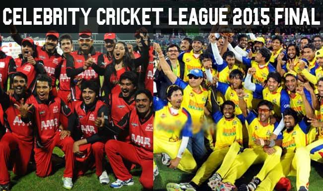 Celebrity Cricket League 2015 Final Live Score Updates, Telugu Warriors vs Chennai Rhinos: Telugu Warriors beats Chennai Rhinos by 7 wickets to clinch CCL 5 title