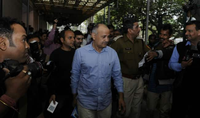Denied entry to Delhi Secretariat, media boycotts Manish Sisodia press conference