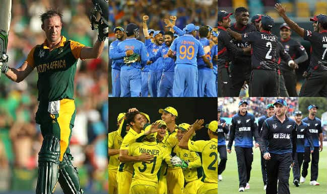 2015 Cricket World Cup Day 14: Highlights, Points Table and Schedule for upcoming matches of WC 2015