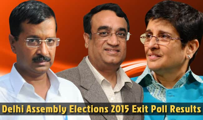Delhi Assembly Elections Exit Poll Results 2015: AAP to get 39, BJP 28, Congress 3 according to ABP-Nielsen survey