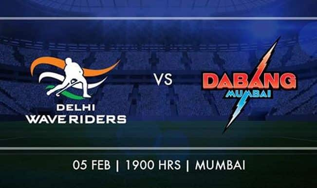 Hockey Indian League (HIL) 2015: Dabang Mumbai to host Delhi Waveriders on February 5