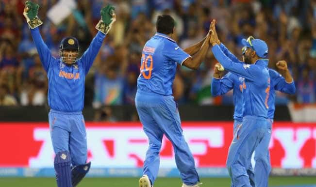 #IndvsUAE Cricket World Cup 2015: India sucks the life out of United Arab Emirates batting – Watch video highlights