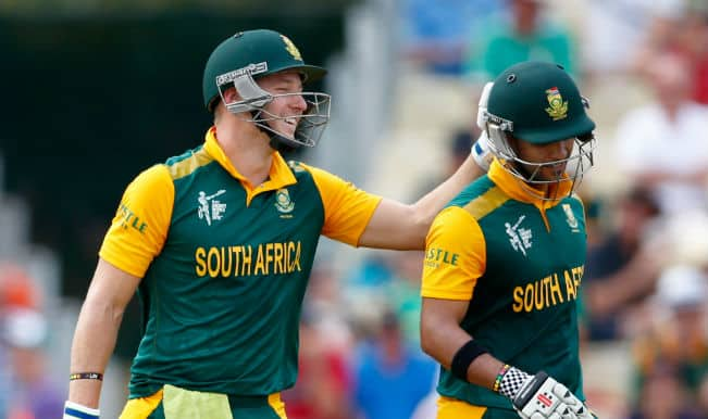 ICC Cricket World Cup 2015: Words of encouragement from JP Duminy helped, reveals David Miller
