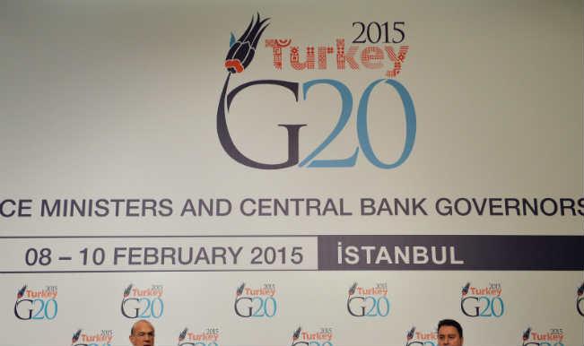 जी-20 बैठक में वैश्विक आर्थिक विकास दर बढ़ाने पर जोर